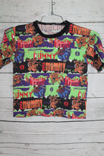 Goosebumps All Over Print Vintage 1995 Book Cartoon Movie Promo Kids T-shirt