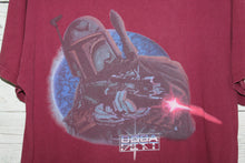 Star Wars Boba Fett Vintage 1997 VHS Trilogy Movie Promo T-shirt