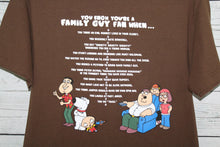 The Family Guy You Know You're a Fan When Vintage Cartoon T-shirt
