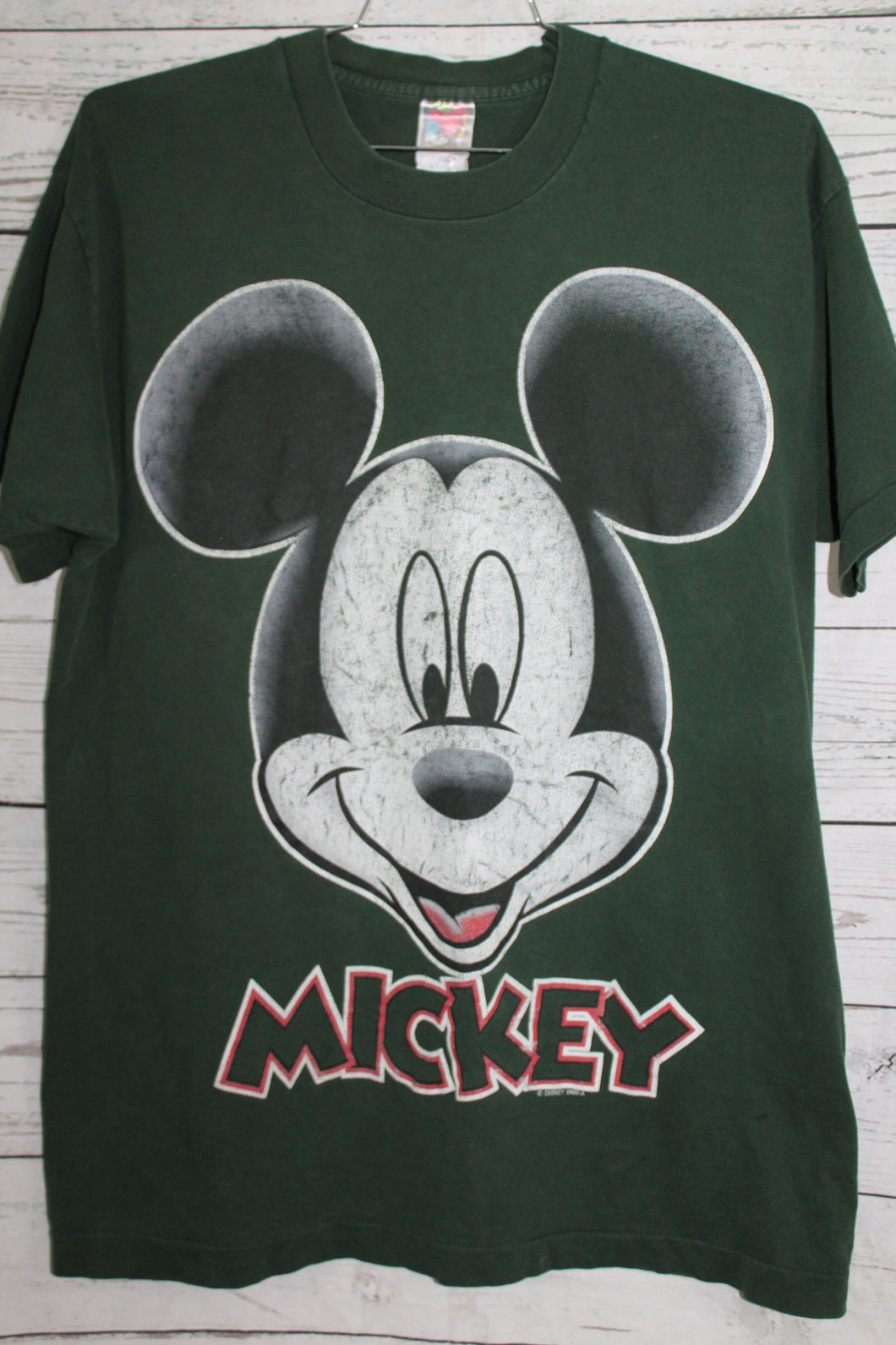 Disney Mickey Mouse Big Head Vintage 1990s T-shirt
