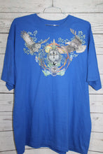 Wolf Owl Buffalo and Eagle Native American Vintage T-shirt
