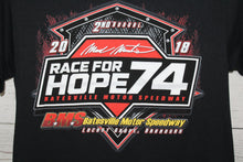 Mark Martin Ricky Thorton Race For Hope Batesville 2018 Double Sided NASCAR T-shirt