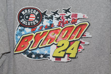 NASCAR Salutes Will I Am Byron William Axalta Racing Double Sided T-shirt