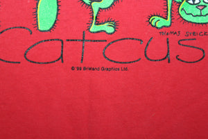 Catcus Cats Vintage 1999 T-shirt