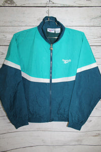 Reebok Vintage Hooded Windbreaker Jacket