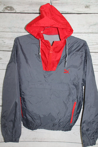 Puma Vintage Hooded Pullover Windbreaker Jacket