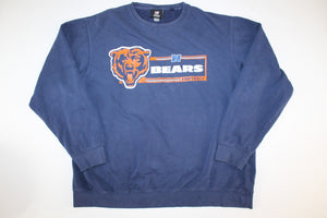 Chicago Bears Vintage Retro Crewneck Sweatshirt Sweater