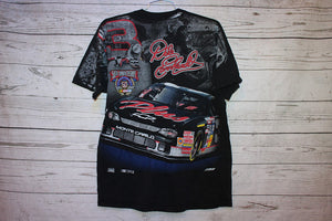 Dale Earnhardt All Over Print Vintage Nascar Racing T-Shirt