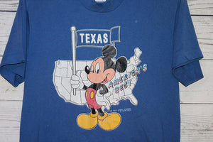Mickey Mouse Texas Vintage T-Shirt