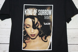 Sade King Of Sorrow Vintage 2001 Concert Tour T-Shirt