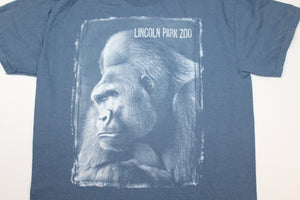 Lincoln Park Zoo Chicago Vintage Gorilla T-shirt