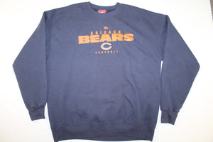 Chicago Bears Football Vintage Crewneck Sweatshirt Sweater