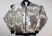 Wolves All Over Vintage DEADSTOCK Tyvek Jacket