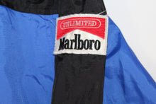 Marlboro Cigarettes Vintage  Neoprene Hooded Windbreaker Jacket