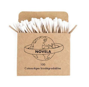 Coton tige biodégradable en bois | Novela-Global.com