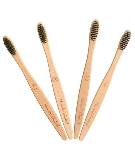 Brosse a dent bambou lot de 10 ou 16 | Novela-Global.com