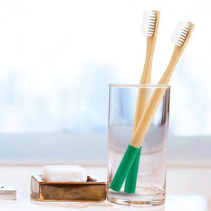 Brosse à dents en Bambou 9 couleurs | Novela-Global.com