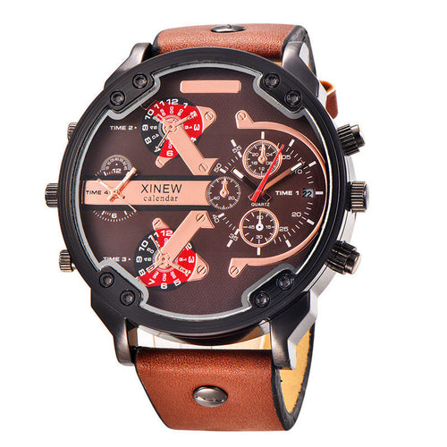 Aviator Luxury Wristwatch