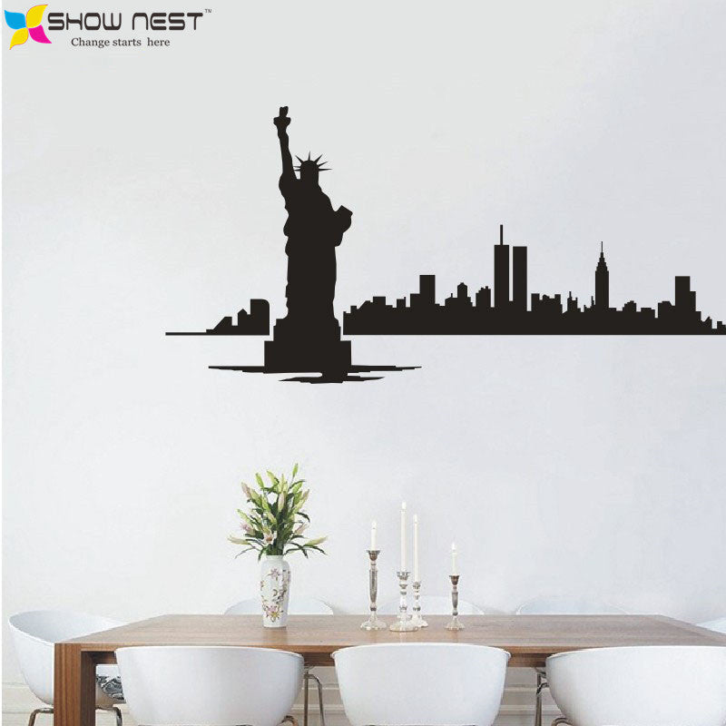NY Skyline Decal