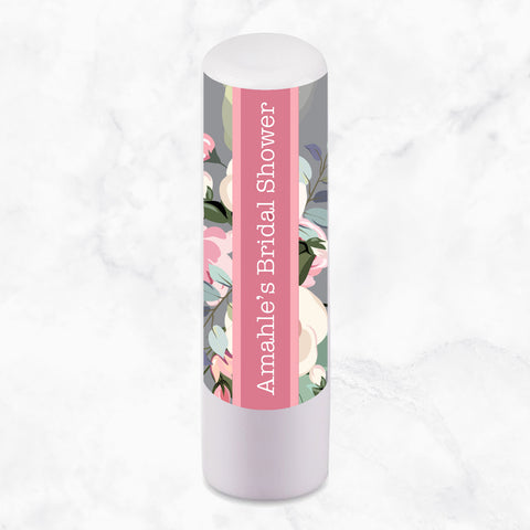 LIP BALM PERSONALISED FAVOUR - Floral Bloom