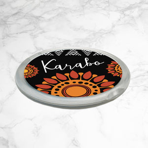 PERSONALISED AFRICAN VIBE COMPACT MIRROR - Africa Vibe
