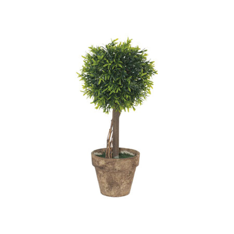 GREEN LEAF TOPIARY - 40CM