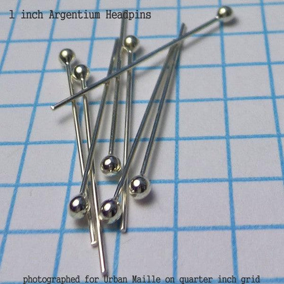 20g Headpins (8 pack) in 3 Metals