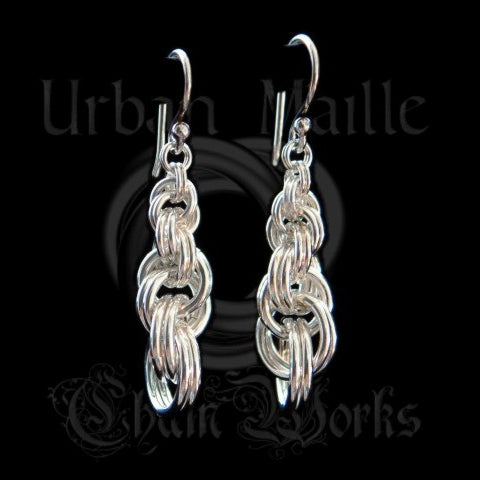 Graduated Double Spiral 4-in-1 Earrings Instruction