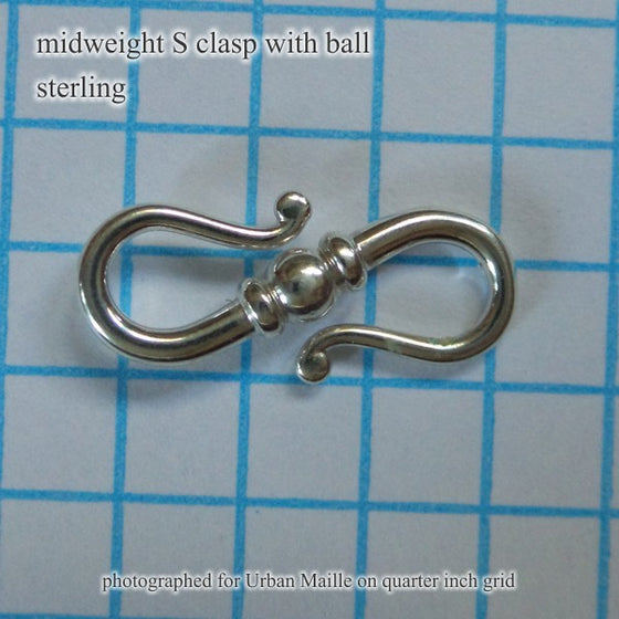 20mm S Clasp wBall