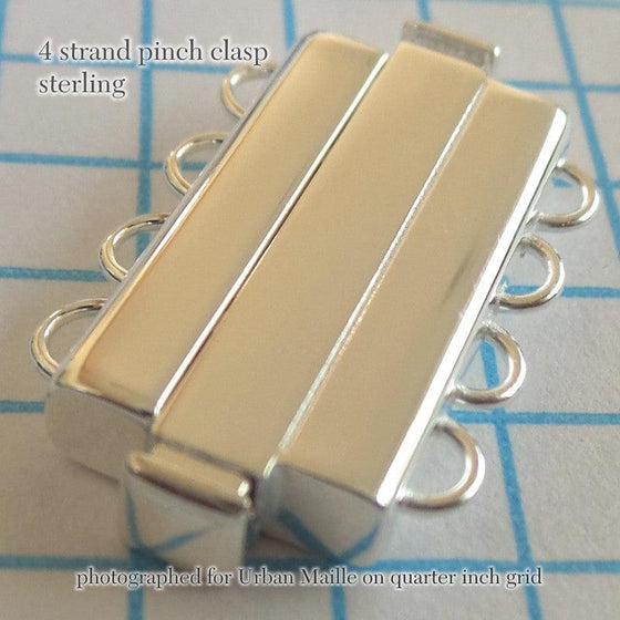 Sterling Pinch Clasps