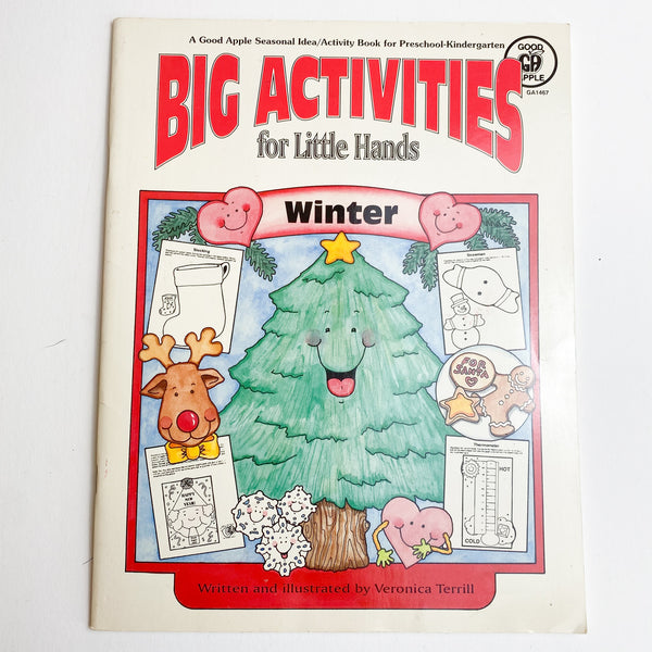 Winter Coloring + Activity Book