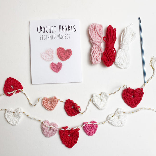 Crochet Hearts Starter Kit