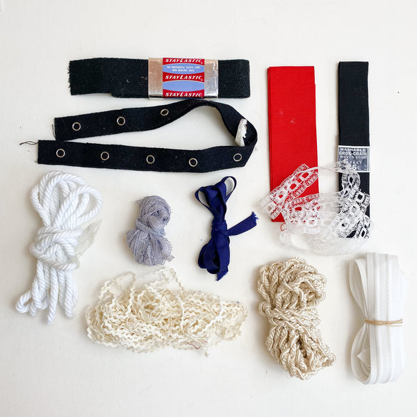 Assorted Elastic + Trim