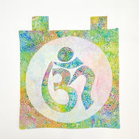 Om Quilted Handmade Applique Wall Banner