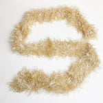Beige Fun Fur Hand Knit Trim