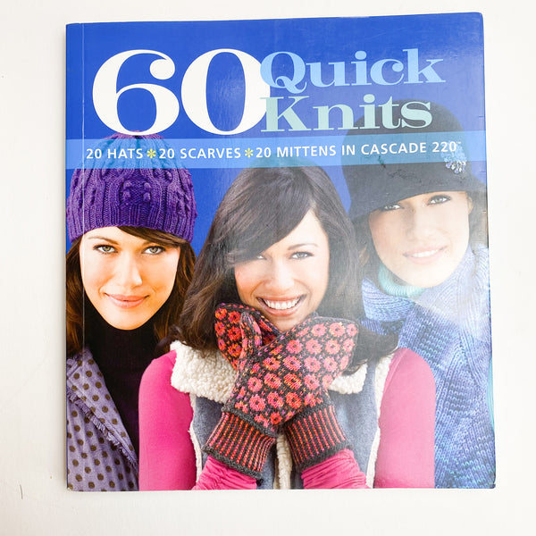 60 Quick Knits Knitting Pattern Book