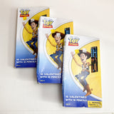 Toy Story Valentines with Pencils - 3 Boxes