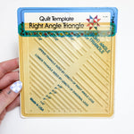 Right Angle Triangle Quilt Template