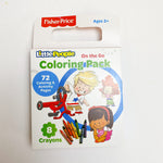 Fisher Price On the Go Coloring Pack