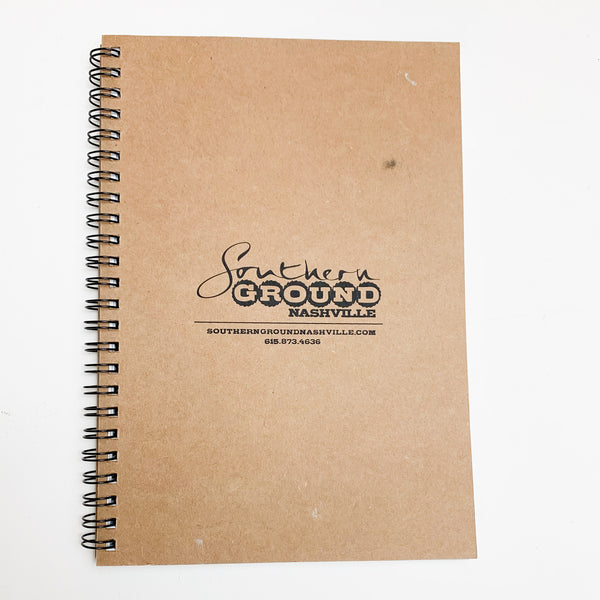 Brown Lined Notebook