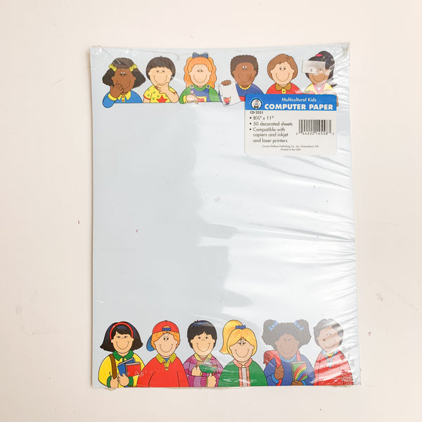 Multicultural Kids Printer Paper - 2 Packs