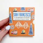 San Francisco 3D Cityscape Book