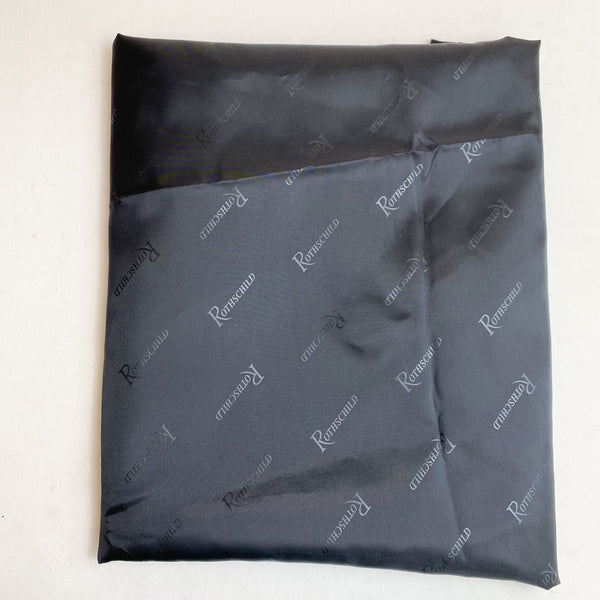 "Black ""Rothschild"" Fabric - 60"" x 114"""