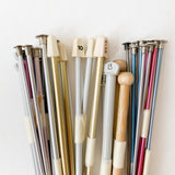 One Pair of Long Knitting Needles