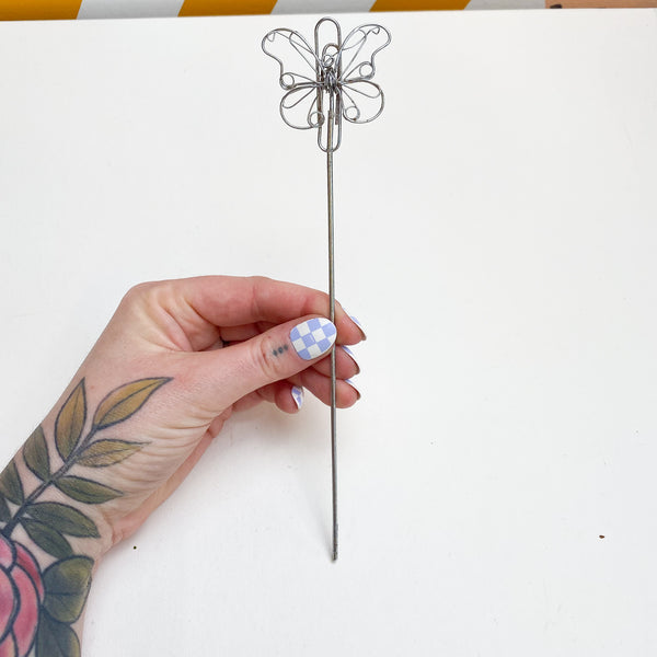 Butterfly Charm on a Stick