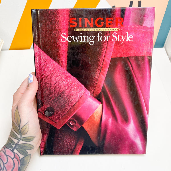 Singer Sewing for Style Book