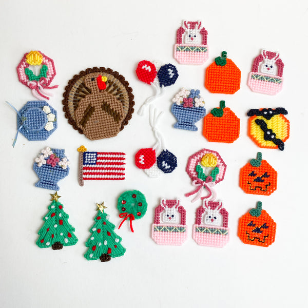 Needlepoint Holiday Charms Collection