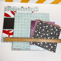 Printed Scrapbook Paper Collection