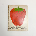 Strawberry Notebook with Gum Paste Recipe