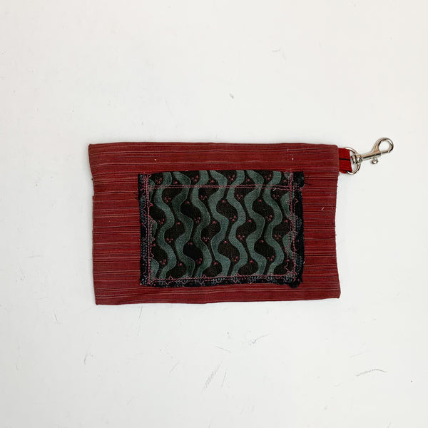 Red Zipper Pouch